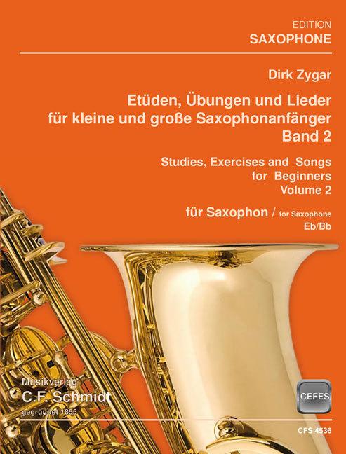 Etüden, Übungen und Lieder - Band 2